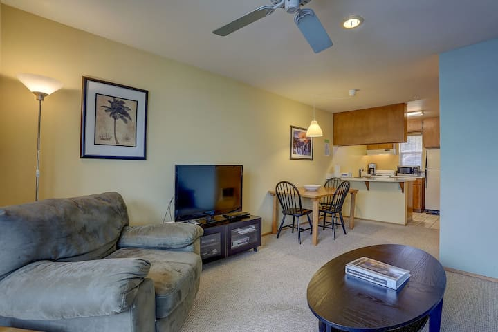 Lodge #15 - Downtown, A/C, Guest Favorite; Lodge Condo, Walk to everything!