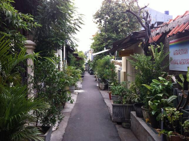 9 bedrooms/9 bathrooms Rumah Tani Betawi