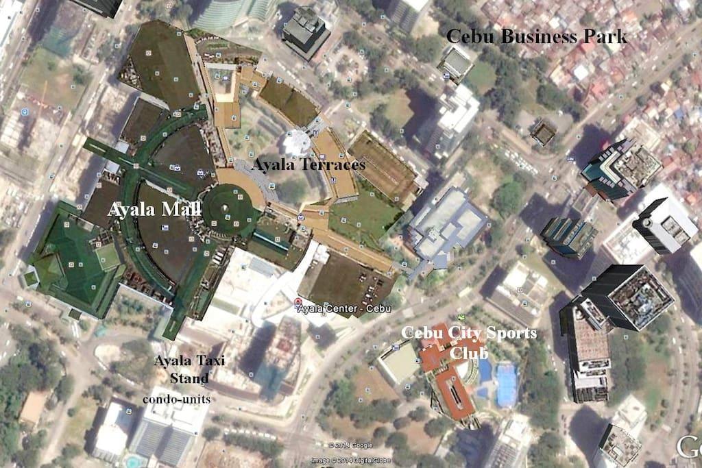 Birdview - Google Earth