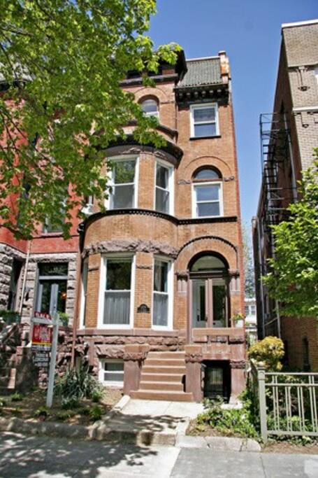 Great Centrally Located Historical Townhouse.   Heart of Dupont Circle, Adam's Morgan, Logan Circle Area