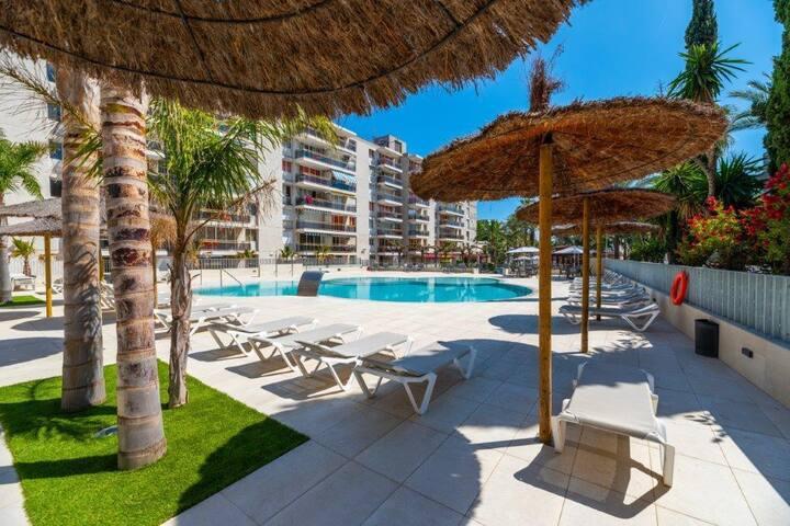 Central apartment near the beach of Salou