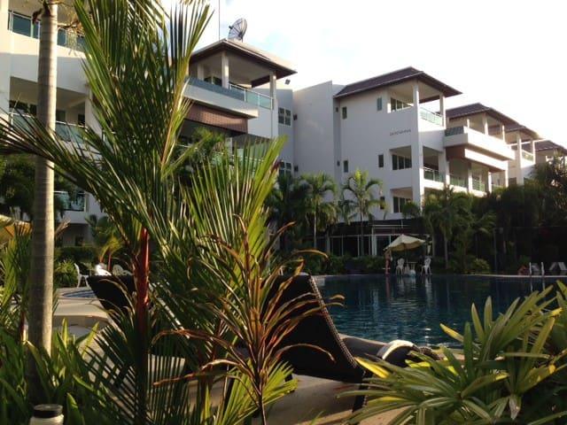 2BR Bangtao Beach Pool Penthouse - Thalang, Phuket - Appartement en résidence