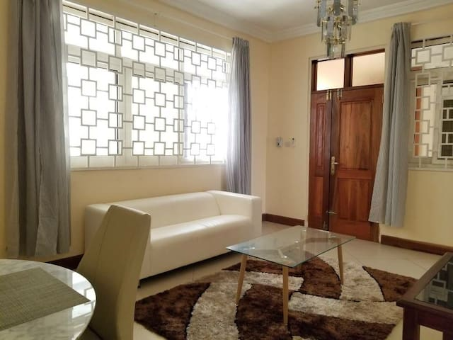 Bright Poolside One Bedroom Apartment in Kumasi