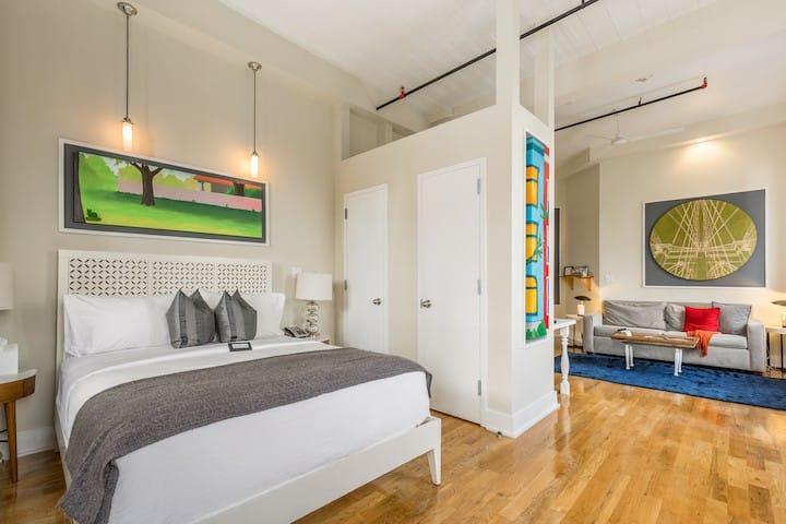 Beautiful Loft Suite in Brooklyn