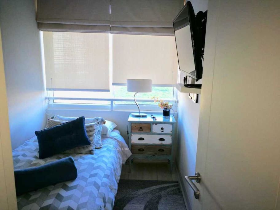 Dormitorio Single con TV cable Wifi
