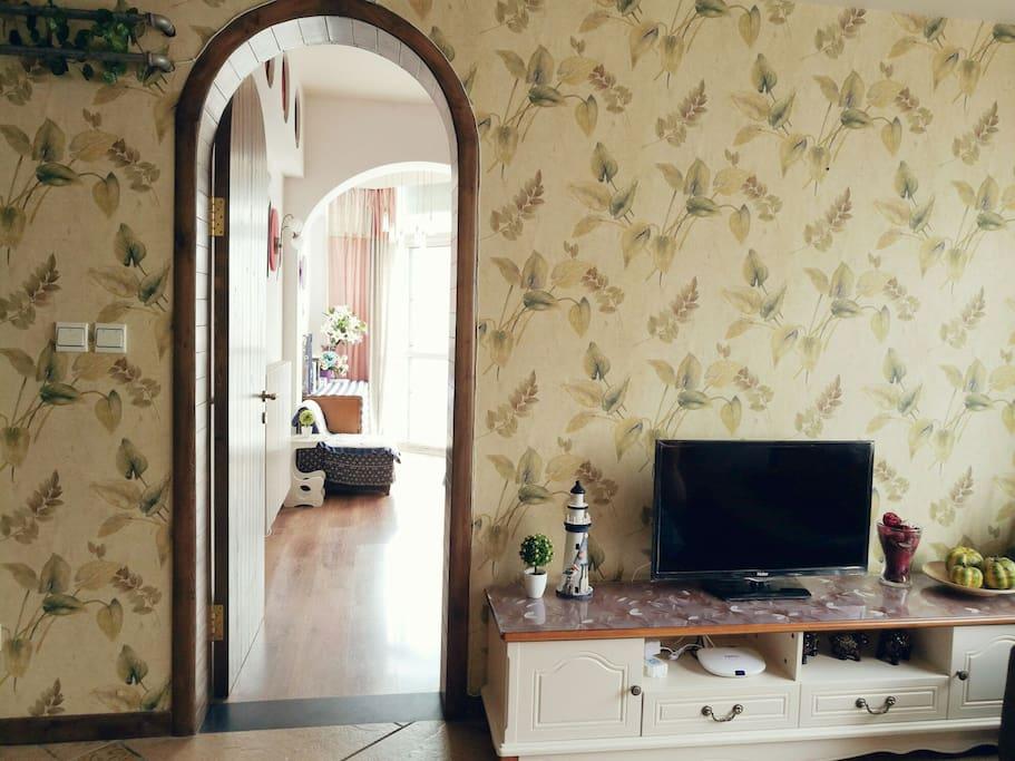 田园风格的客厅