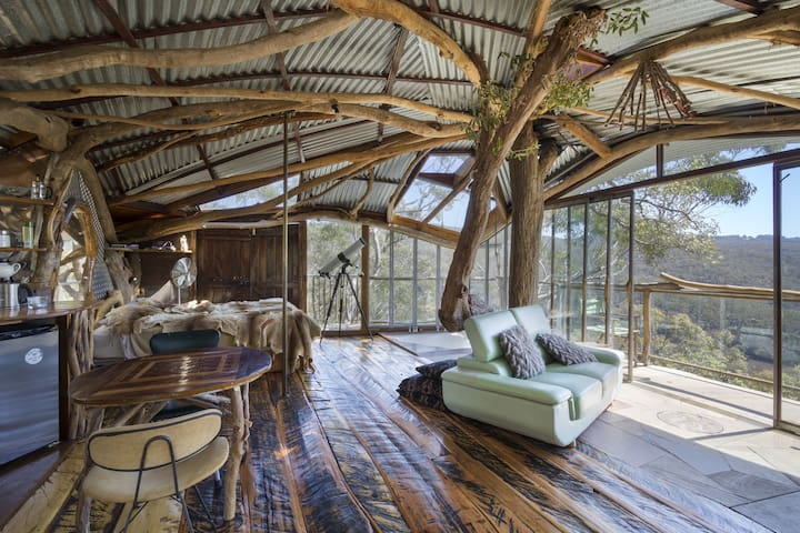 Treehouse  Blue Mountains - Bilpin - Boomhut