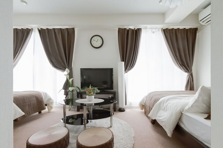 Cozy apartment near USJ,KAIYUKAN,Wi-Fi #602