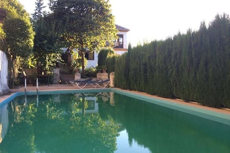 Charming huge villa, stunning views - Granada
