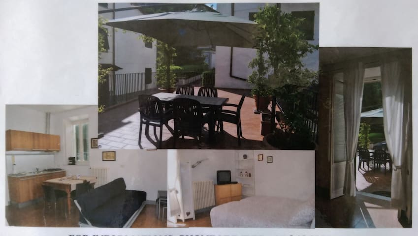 studio attrezzato, grande terrazza - Apartments for Rent in Bagni di ...