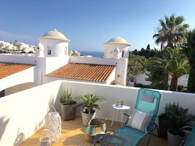 Terrasse 1 mit fantastischem Meerblick
