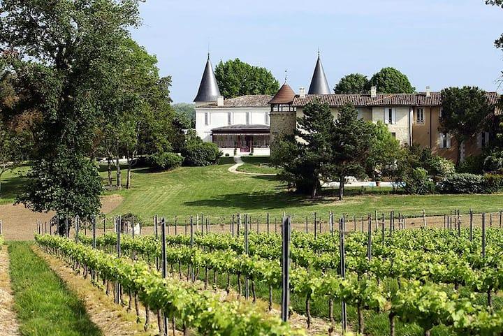Château 530m² proche Bordeaux