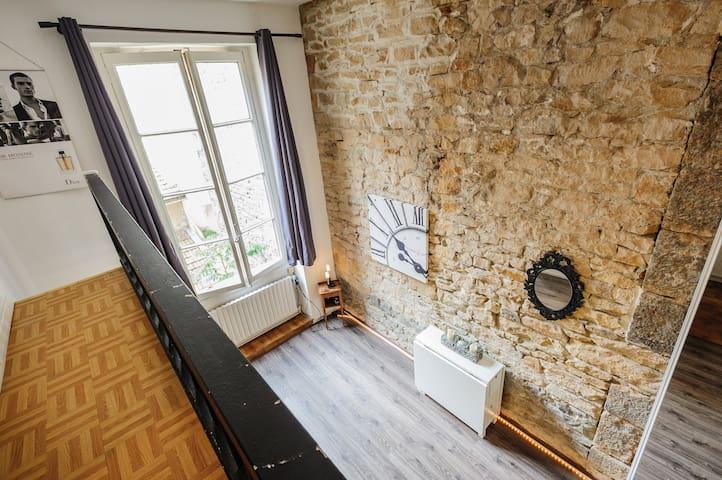 DUPLEX COSY - Quartier 6ème - Lyon - Apartment