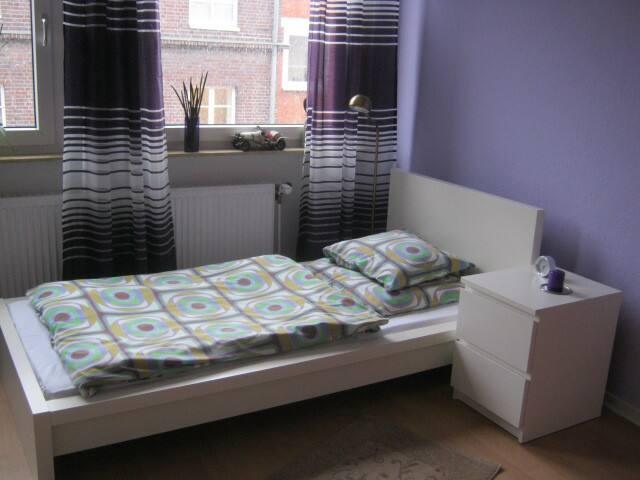 Gemütliche 2 Zimmer wohnung in Messenähe - Hanovre - Appartement