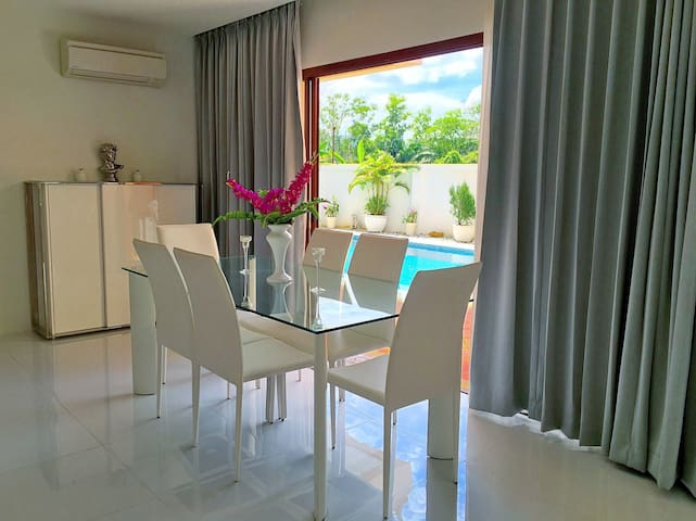 Modern 3BD pool villa near Layan beach - タラーン - 別荘