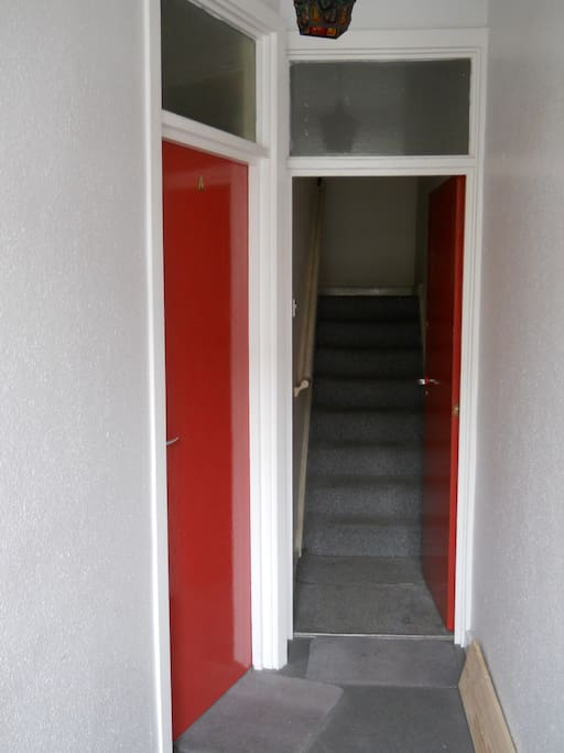 This is the entry way to my flat on the second storey.