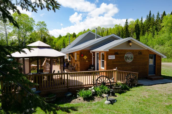 Robertville close to Bathurst New Brunswick Canada