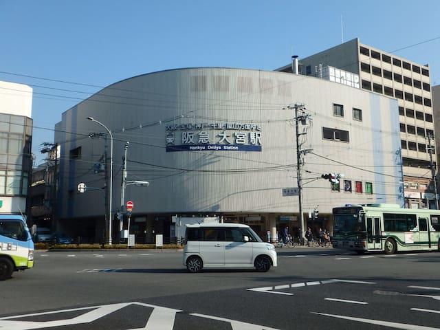 京都大宮駅(女仕們專屬空間、安全便利的房源)