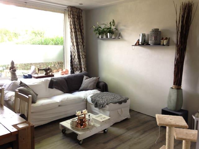 Volledige benedenwoning met tuin - Nijmegen