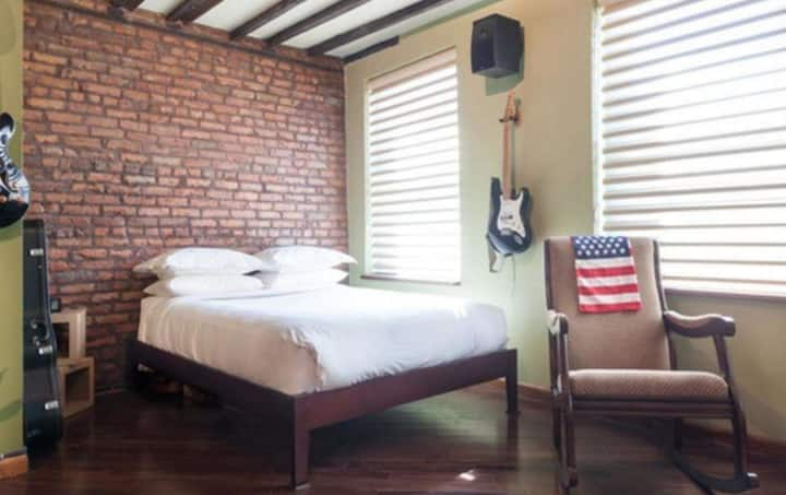 Simple isa bedroom apartment