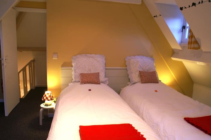 2 lits séparés ou réunis