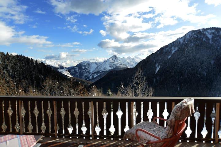 Grande balcone panoramico