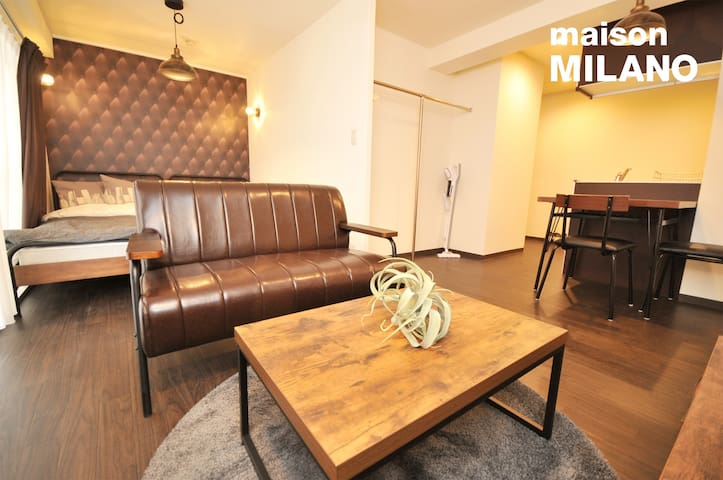 502 Renovated Private Apt★Central★Midosuji★32㎡