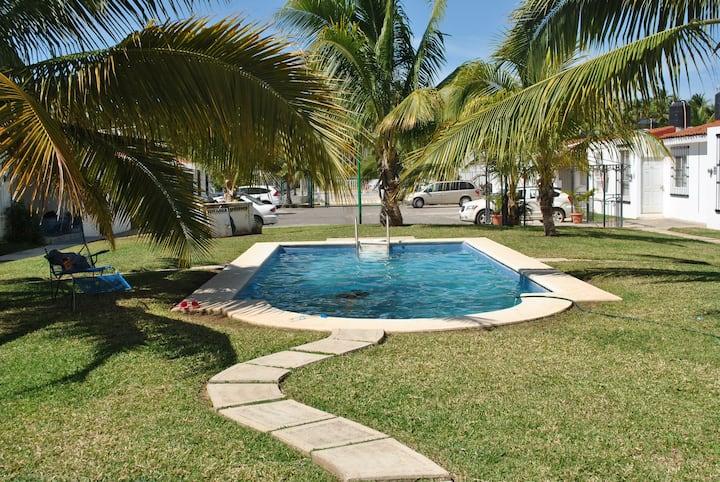 Casa para vacacionar en San José Ixtapa