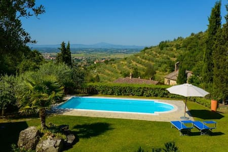 Lovely house with private garden and pool - Terontola - Talo