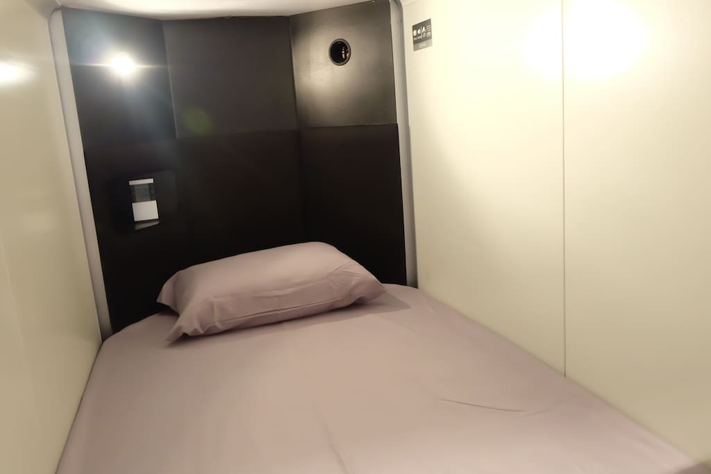 capsule bed