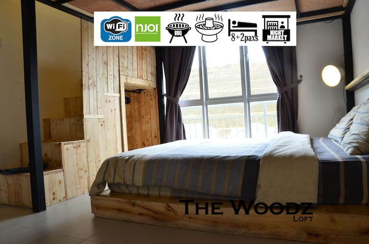 THE WOODZ x LOFT Homestay @ Cameron Highlands - Brinchang - Leilighet