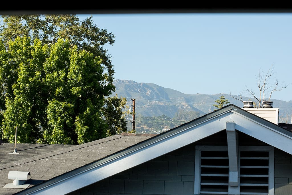 Mountain View from the unit