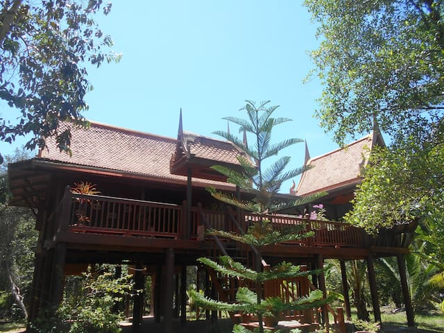Traditional Thai Family House