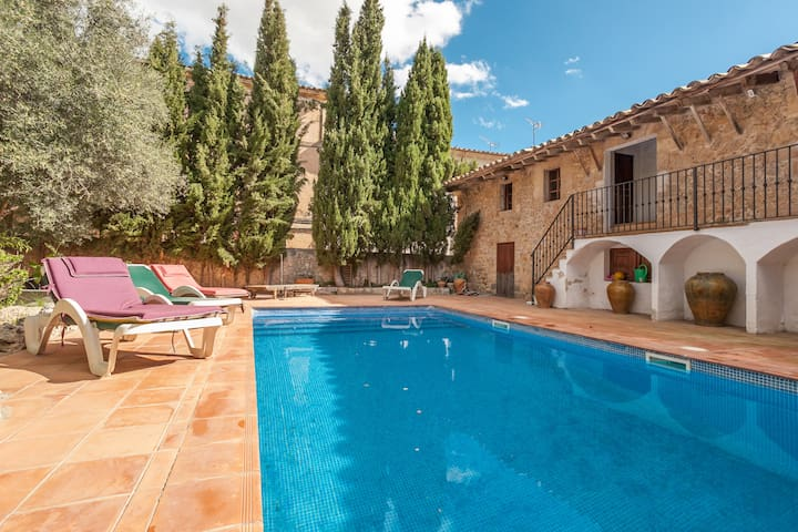 Cosy apartment with pool and garden - Alaró - Leilighet