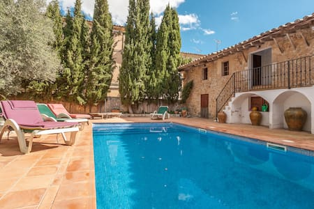 Cosy apartment with pool and garden - Alaró