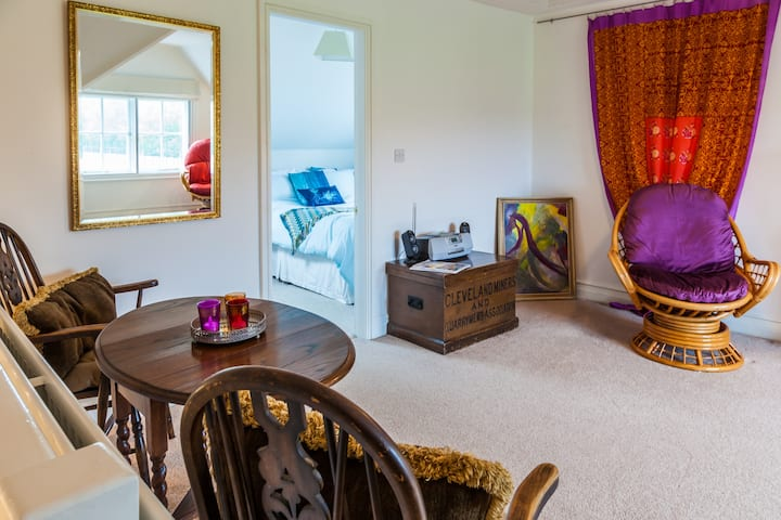 Private apartment in town centre house