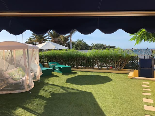 Sea View Meloneras Terrace Duplex +Wifi +Barbacue