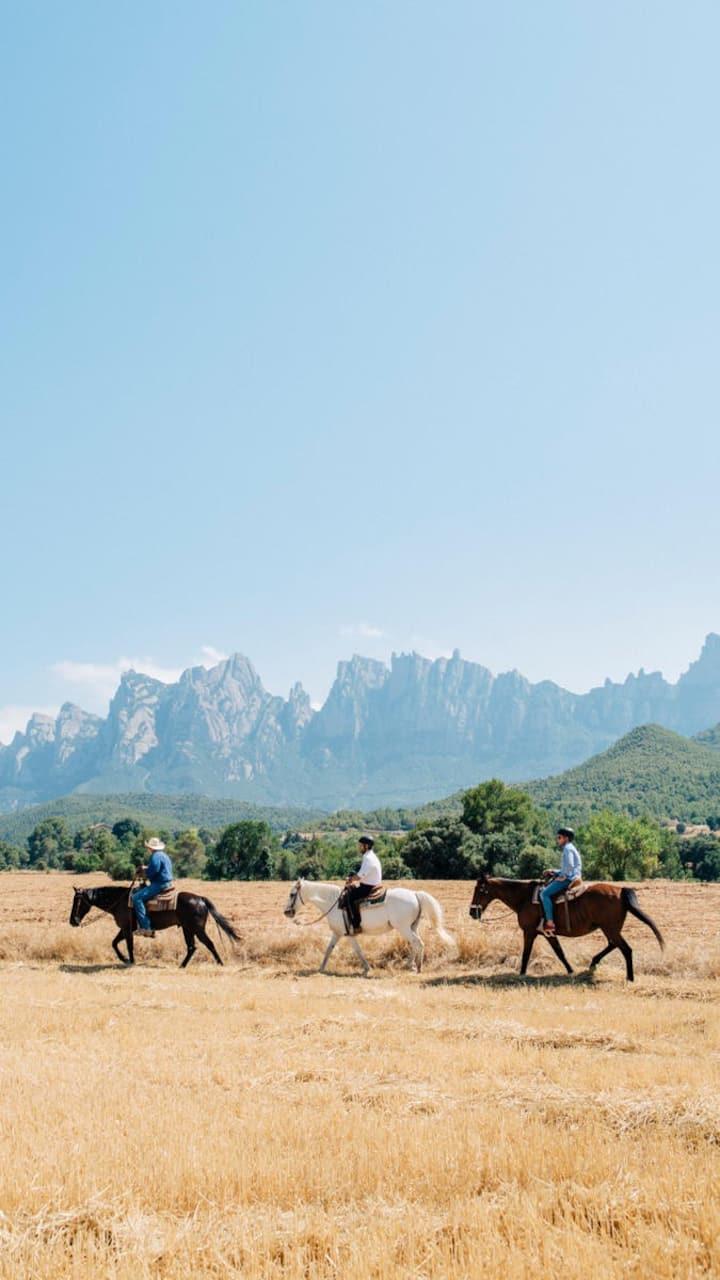 Montserrat Horseback Ride