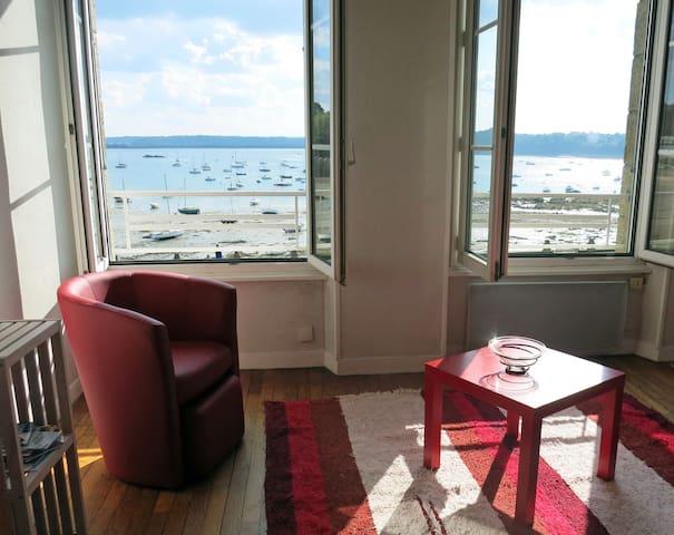 Simpático luminoso con vista al mar - St-Malo - Departamento
