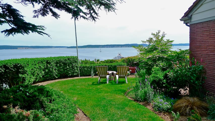 Water View Walkable to Downtown  - Port Townsend - Apartamento