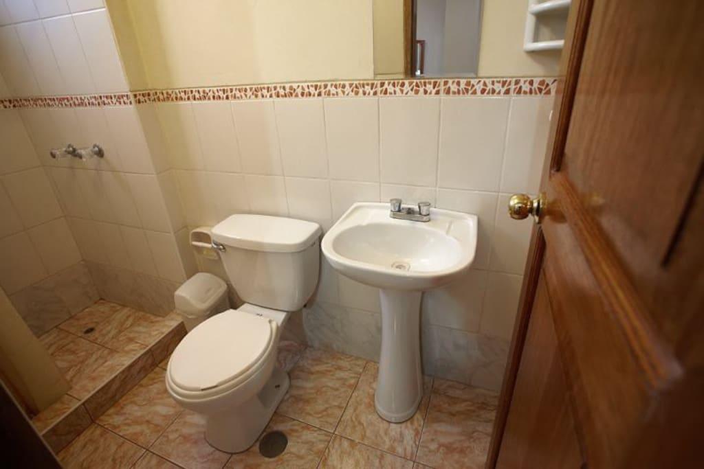 Todas las habitaciones cuentan con baño privado