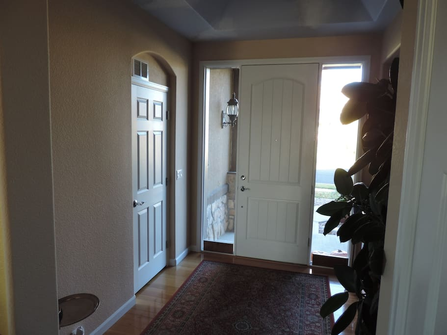 Your private room with en-suite as you enter the front door.