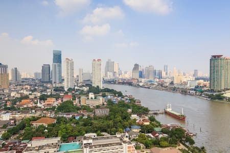26fl 1BR 52sq.m. Amazing view+Wifi - Bangkok - Apartment