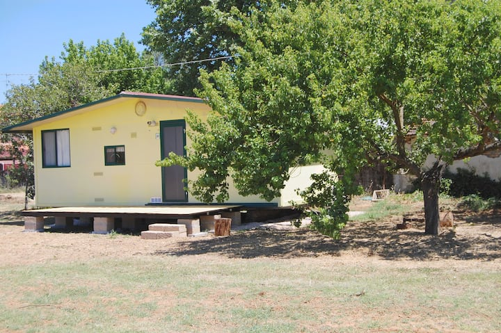 """Ein Tinyhouse """"in the middle of nowhere"""""""