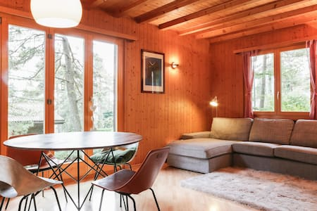 Family chalet at the foot of Jura - Chéserex
