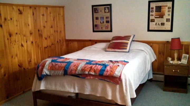 Room 2 in Lakeside Adirondack Home