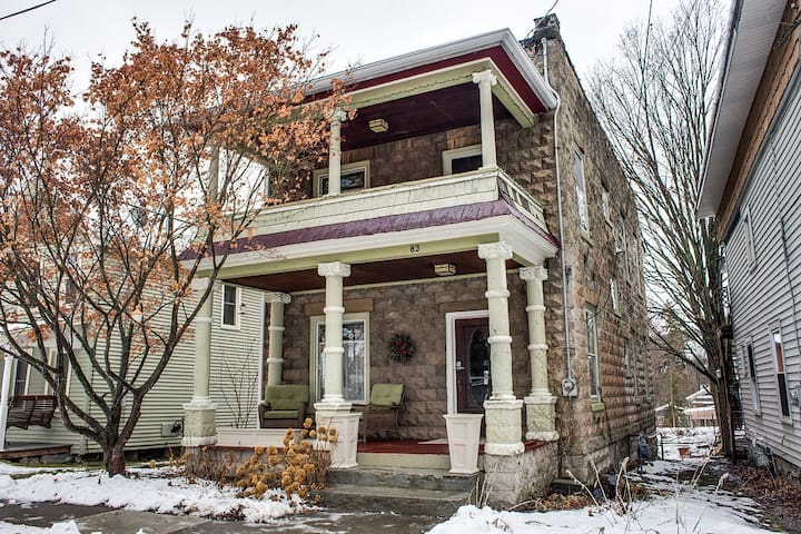 The Vintners House, a 3 bedroom 2 bath home in downtown Hammondsport