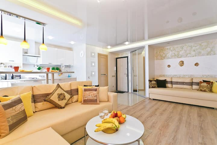RentBel. Stylish 1 BR in the heart of the city.