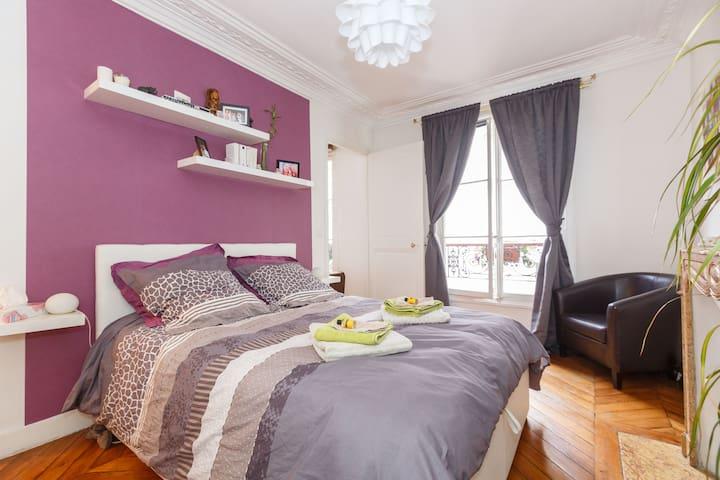 Lovely apartment in Montmartre - Paris