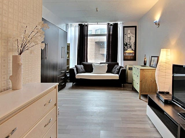 Cozy Loft in Downtown Quebec City - Quebec City - Daire